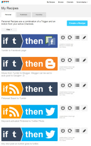 ifttt-dashboard