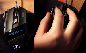 The gaming mouse and the grip that makes it feel ten times as accurate.